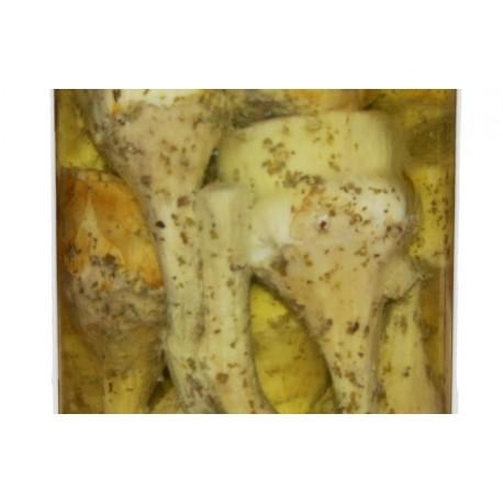Artichaut avec tige sous huile 100g