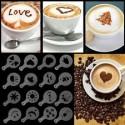 Pochoirs pour cafés