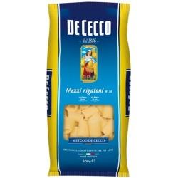 Mezzi rigatoni De Cecco kg. 0.5