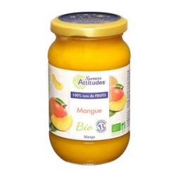 Confiture de mangue bio sans sucre ajouté
