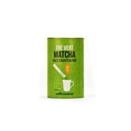 Sticks de thé matcha instantané bio