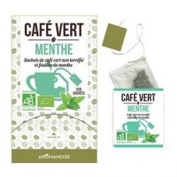 Café Vert à la menthe