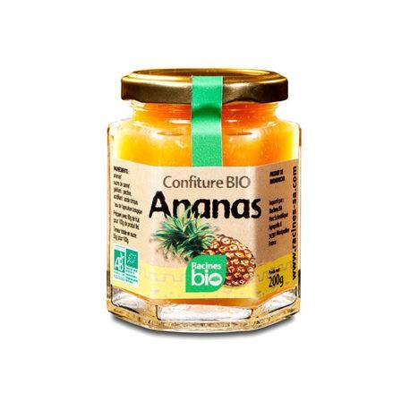 Confiture d'ananas de Madagascar bio