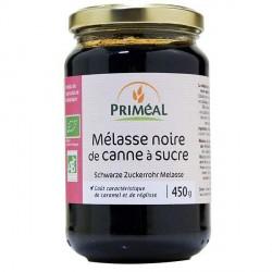 Mélasse noire de canne à sucre bio 450g