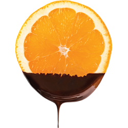 Orange chocolatée