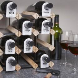 Etiquettes témoin pour bouteilles de vin - Vacu Vin